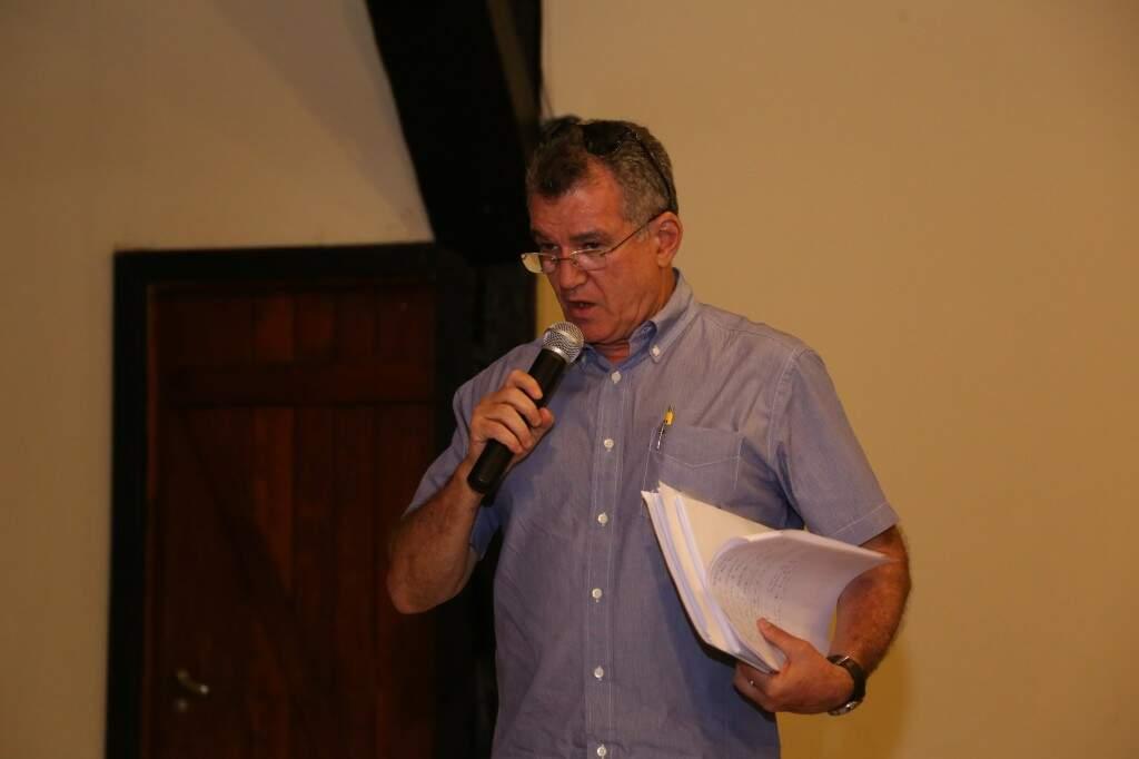 Segundo secretário de Turismo, Augusto Mariano, lavoura passou de 17 mil hectares para 51 mil hectares. (Foto: Kisie Ainoã)