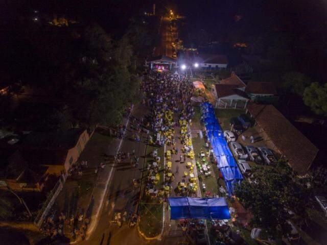 A Festa do Peixe vai ocorrer na Avenida Miguel Chaia, em Palmeiras(Foto: Divulgação)