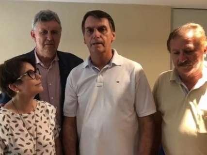 Em vídeo, Bolsonaro elogia Reinaldo e deseja boa sorte no 2º turno