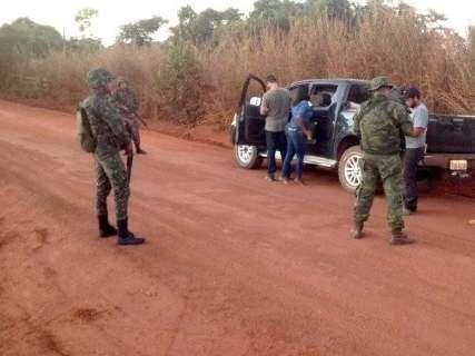 Fronteira recebe mais de 800 militares durante Operação Ágata