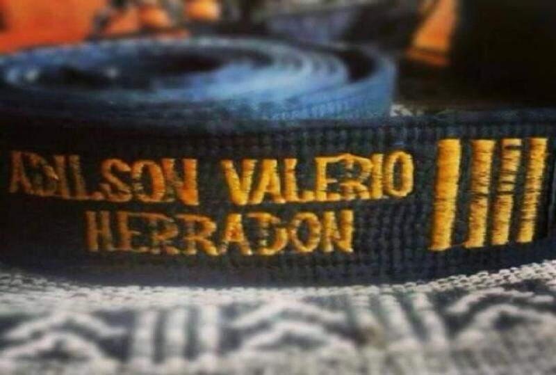 A faixa de um eterno campeão. (Foto: Arquivo Pessoal)