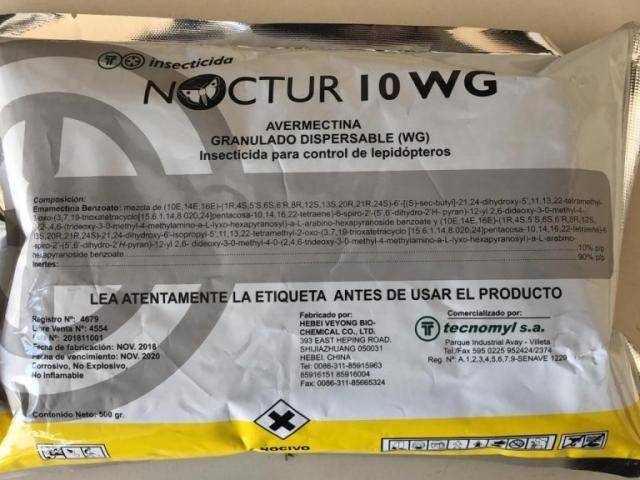 Inseticida fabricado na China apreendido em Mato Grosso do Sul (Foto: Divulgação)