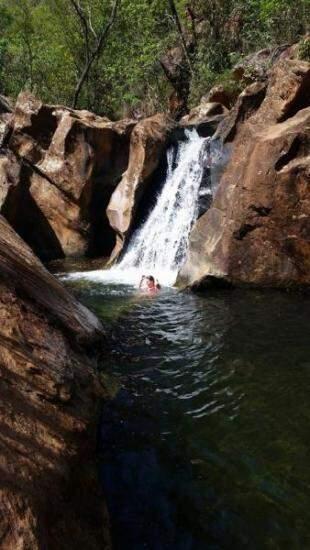 Cachoeira das Ostras, um complexo com 3 quedas e a prova de que ela prefere essa água a do mar.
