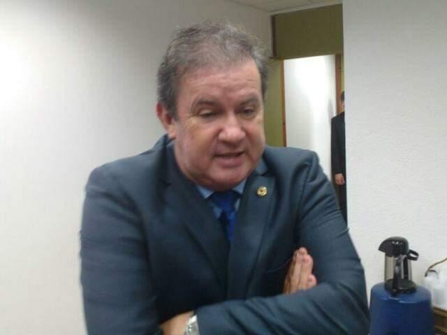 Líder do MDB na Assembleia, Eduardo Rocha. (Foto: Leonardo Rocha).