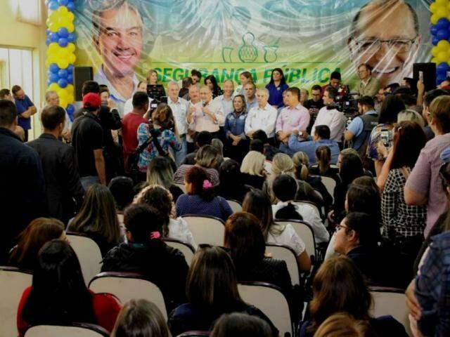 Governador Reinaldo Alckmin acompanha Geraldo Alckmin em Ponta Porã (Foto: Divulgação)