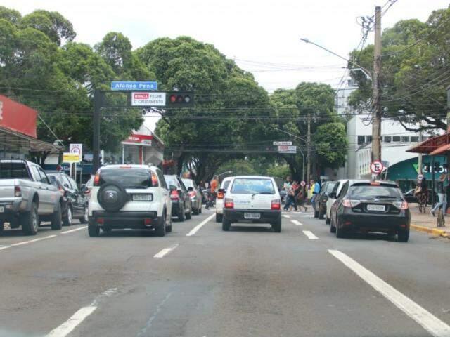 Rui Barbosa será revitalizada da altura do terminal Morenão até a Avenida Rachid Neder (Foto: Marcos Maluf)