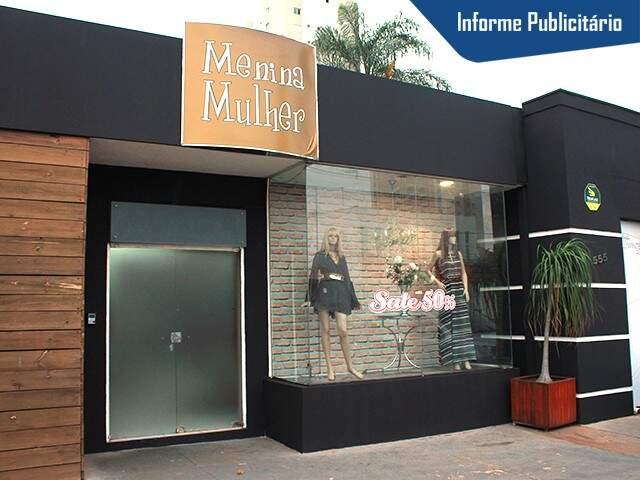 A loja fica na Rua Bahia, 555, no bairro Jardim dos Estados. (Foto: Marina Pacheco)