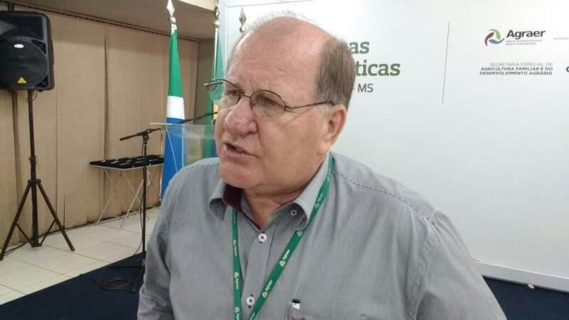 Enelvo Felini detalhou ações do governo para o setor. (Foto: Leonardo Rocha)