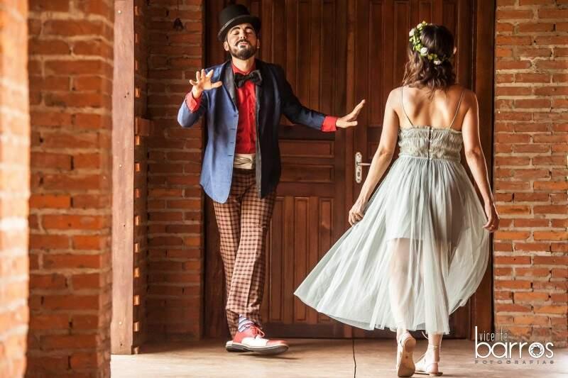 Juntos, eles protagonizam cenas que mostram quão espontâneo é o sentimento. (Foto: Vicente Barros)
