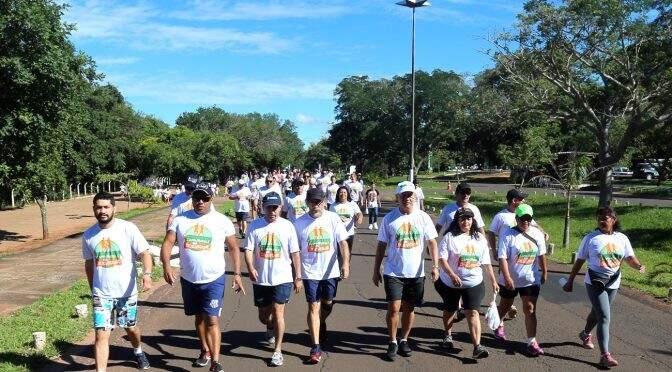 Caminhada vai ocorrer no Parque dos Poderes (Foto: Divulgação - SAD)