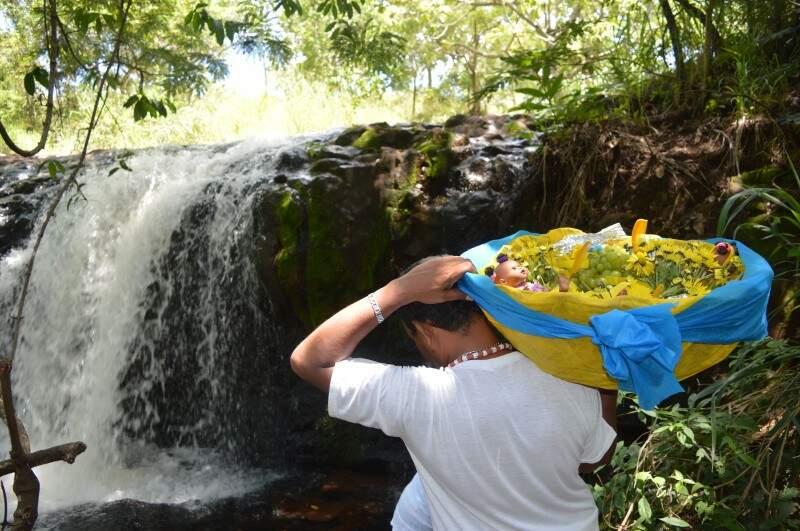 Balaio de mimos para Oxum, deusa do amor e da fertilidade. (Foto: Paula Maciulevicius)