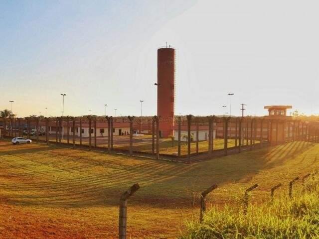 Penitenciária Federal de Campo Grande é uma das unidades, referência em detenção dos criminosos mais perigosos do país. (Foto: Fernando Antunes/Arquivo)