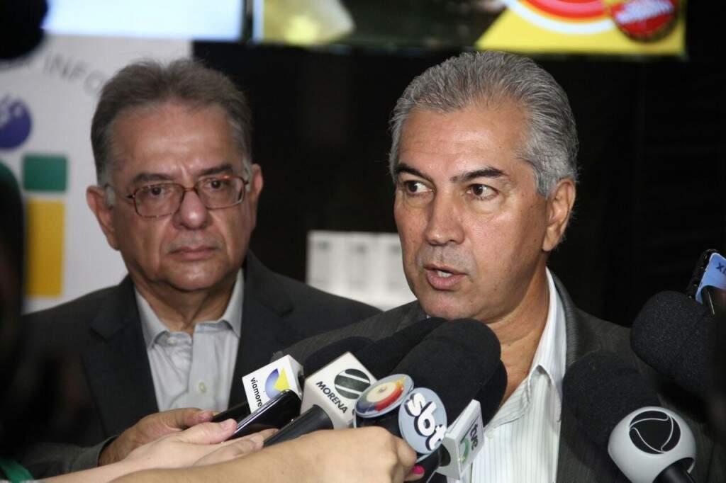 Governador Reinaldo Azambuja disse que projeto é necessário neste momento (Foto: Marcos Ermínio)