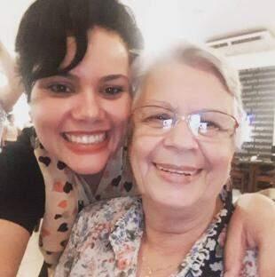 Juliana e Dalva, idealizadoras do projeto de arrecadação.