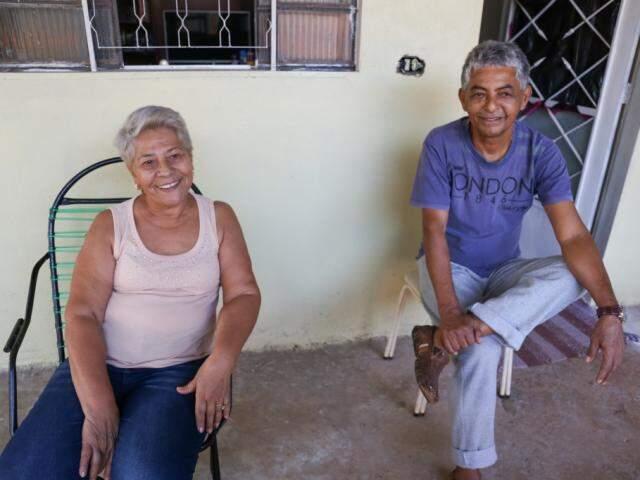 Luiza e Expedito. (Foto: Paulo Francis)
