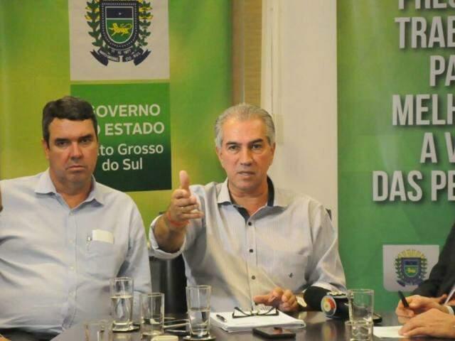 Governador condicionou redução ao fim da greve e compromisso dos donos de postos de redução do preço do diesel nas bombas. (Foto: Paulo Francis)