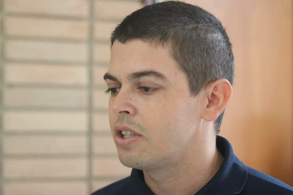 Ideu Vilela é guarda municipal há 10 anos (Foto: Marcos Maluf)