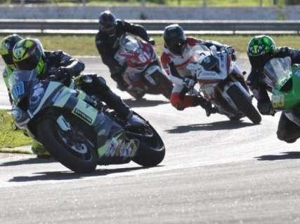 Estadual de Motovelocidade terá treinos e corrida da 7ª etapa neste sábado