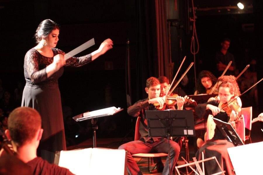 Orquestra UFGD fará concerto de abertura do 6º Fesdom.