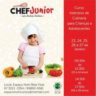 Chef Junior - Foto Divulgação