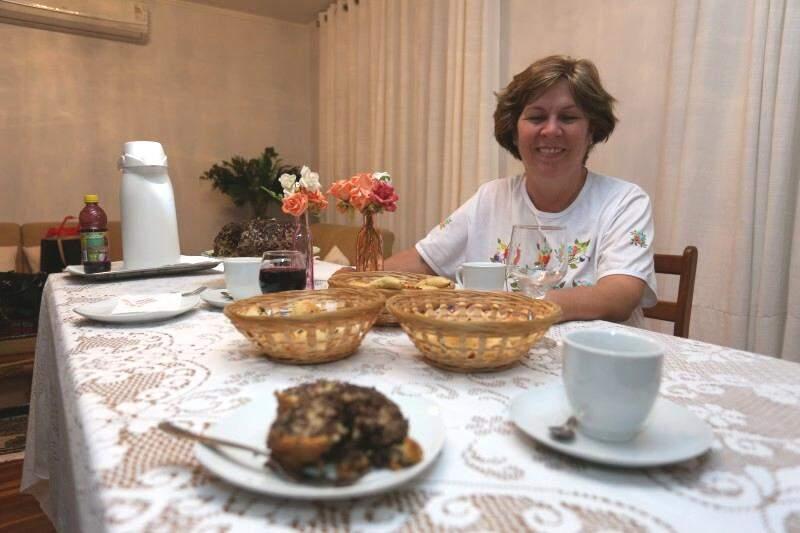 Gaúcha de Passo Fundo, Cynthia Sudbrack Belin, resolveu transbordar a saudade para a mesa. (Foto: Marcelo Victor)