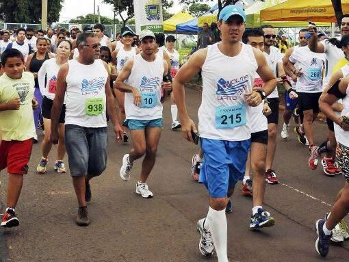Volta UFMS incentiva a qualidade de vida. (Foto: CCS/UFMS)