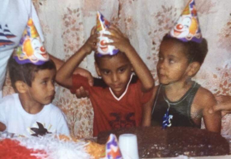 Dhenyton, Luiz e Gabriel. (Foto: Acervo Pessoal)