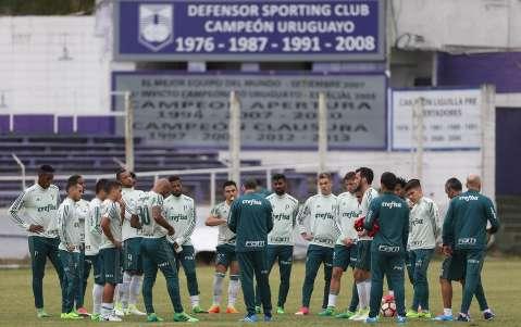 Palmeiras busca a recuperação contra o Peñarol hoje à noite em Montevidéu