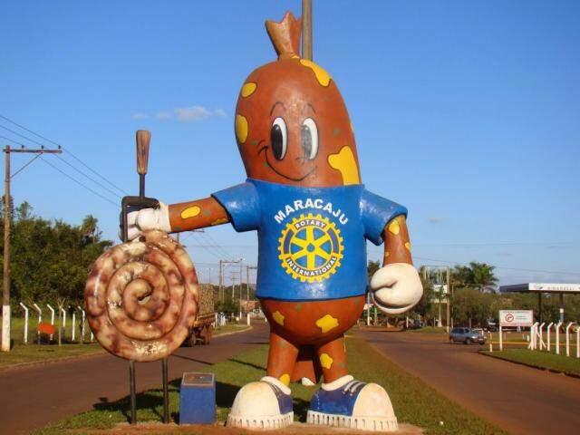 """Maracaju é conhecida como """"a cidade da linguiça"""". (Foto: Prefeitura/Reprodução)"""