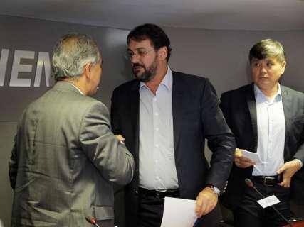 Em encontro com Reinaldo, Fiems e Famasul defendem incentivos fiscais