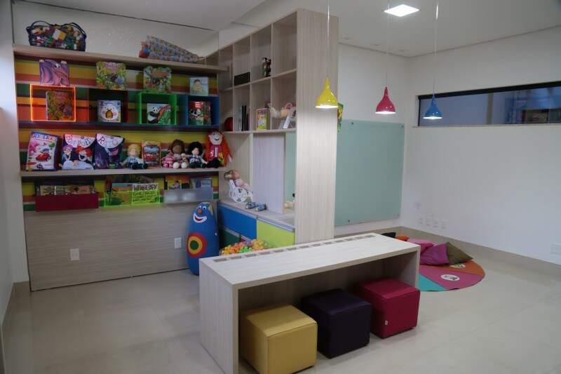 Espaços são desenvolvidos para o conforto e inspiração dos pequenos (Foto: Fernando Antunes)