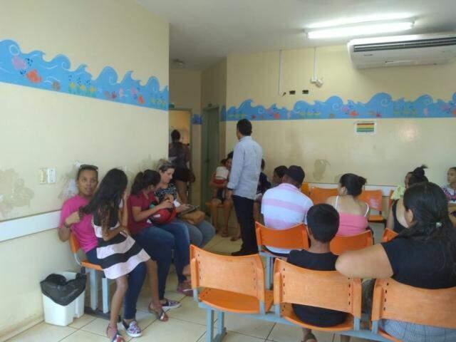 Setor infantil na UPA da Vila Almeida. (Foto: Mayara Bueno/Arquivo)