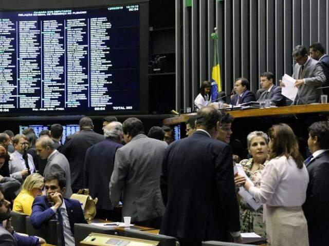 Plenário da Câmara dos Deputados durante sessão nesta terça-feira (12). (Foto: Luis Macedo/Câmara dos Deputados)