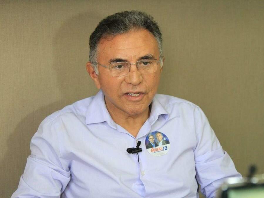Odilon de Oliveira, do PDT, no Campo Grande News. (Foto: Marina Pacheco/Arquivo).