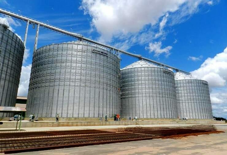 MS tem capacidade de armazenar 8 milhões de toneladas de grãos. (Foto: Aprosoja/MS)