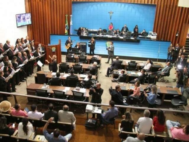 Partidos também colocam a Assembleia Legislativa entre as metas da próxima eleição; detentores de mandato saem em vantagem. (Foto: ALMS/Divulgação)