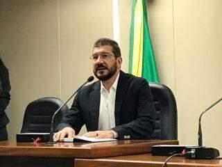 Pedro Kemp, propositor da reunião. (Foto: Tatiana Marin)