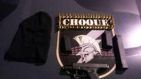 Choque prende foragidos com Glock, que dispara 20 tiros por segundo