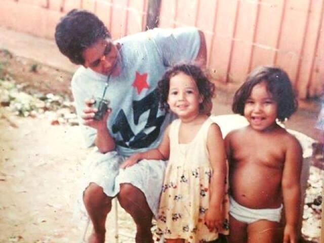 Ione, Carol e Gabriela. Uma tarde de sol como qualquer outra, no Santo Antônio. (Foto: Acervo Pessoal)