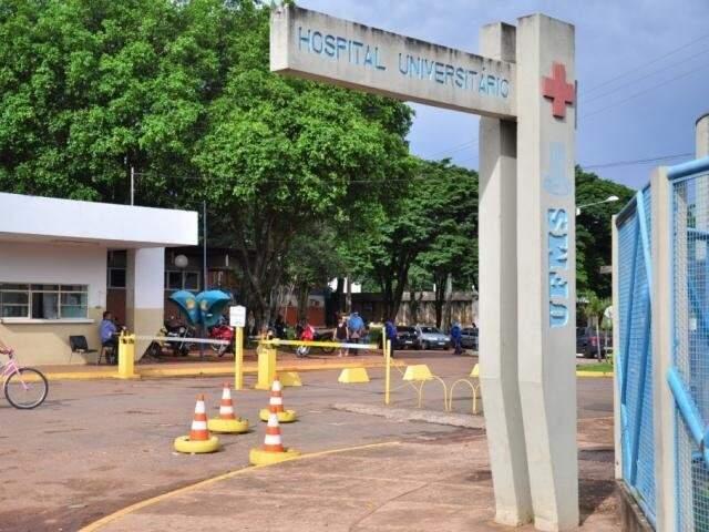 Hospital Universitário de Campo Grande, onde o procedimento é realizado (Foto: Arquivo/Campo Grande News)