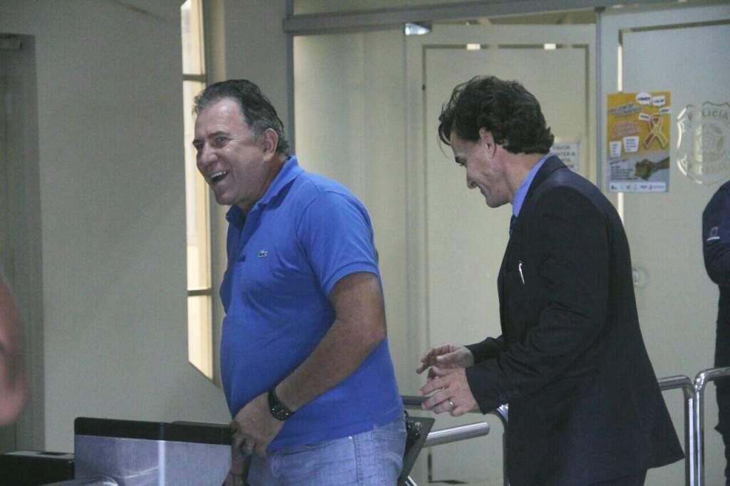 Edson Giroto também se entregando (Foto: Marcos Ermínio)
