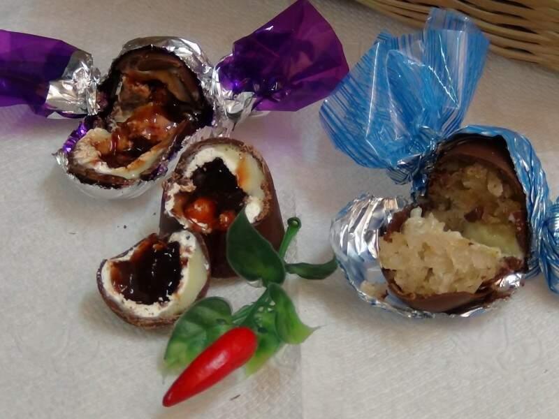 Bombons levam frutos do cerrado. (Foto: Divulgação)