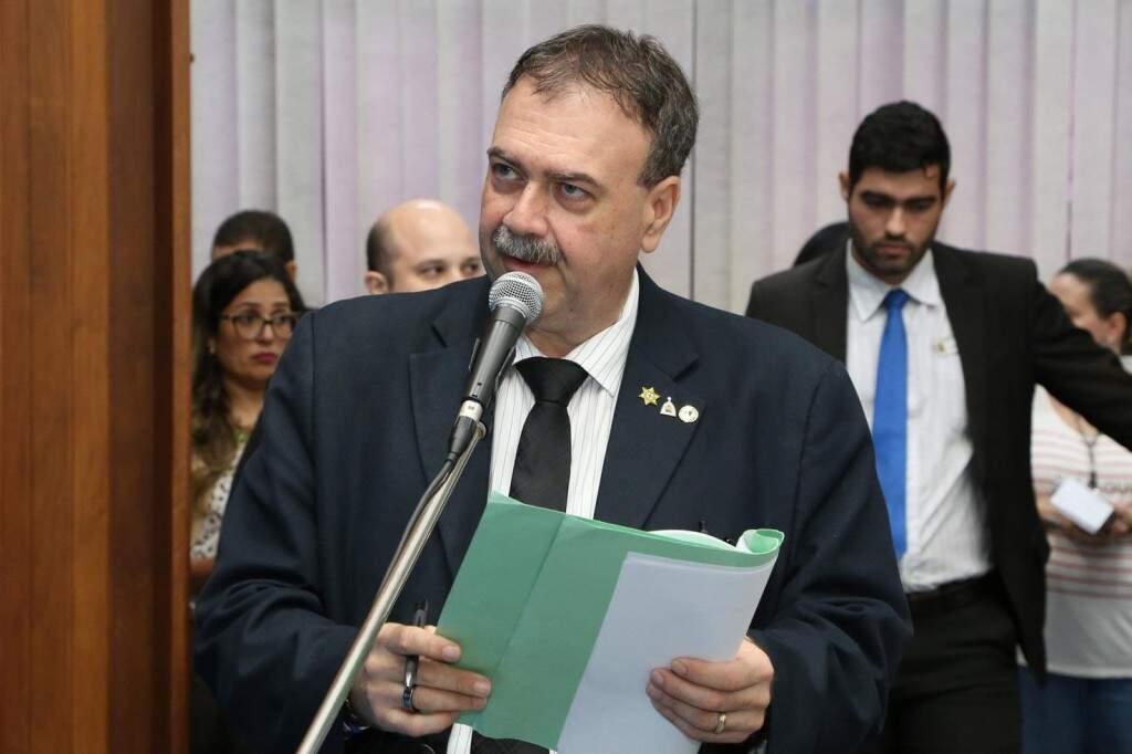 Deputado Paulo Siufi (MDB) apresentou projeto na Assembleia Legislativa (Foto: Assessoria/ALMS)
