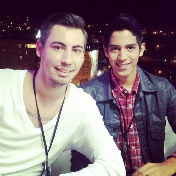 Idealizadores do blog: Marcio Massad (à esquerda) e Thallyson Perez. (Foto: Reprodução/Homens com Estilo)
