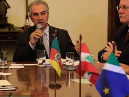 Reinaldo propõe união com Estados do Sul para fechar fronteiras do Brasil