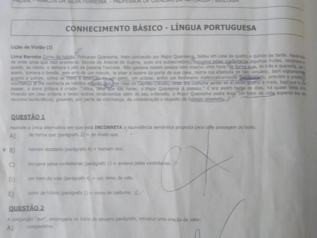 Prova de concurso para professor gerou 400 reclamações ao Ministério Público.