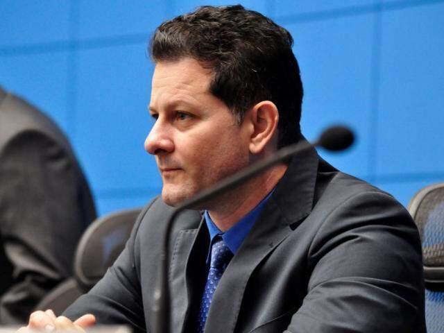 Do MDB, deputado Renato Câmara na casa de leis. (Foto: Luciana Nassar/ALMS).