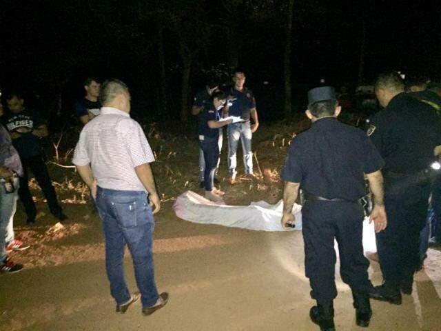 Corpo de campo-grandense foi encontrado na madrugada de sábado em Pedro Juan Caballero (Foto: Porã News)
