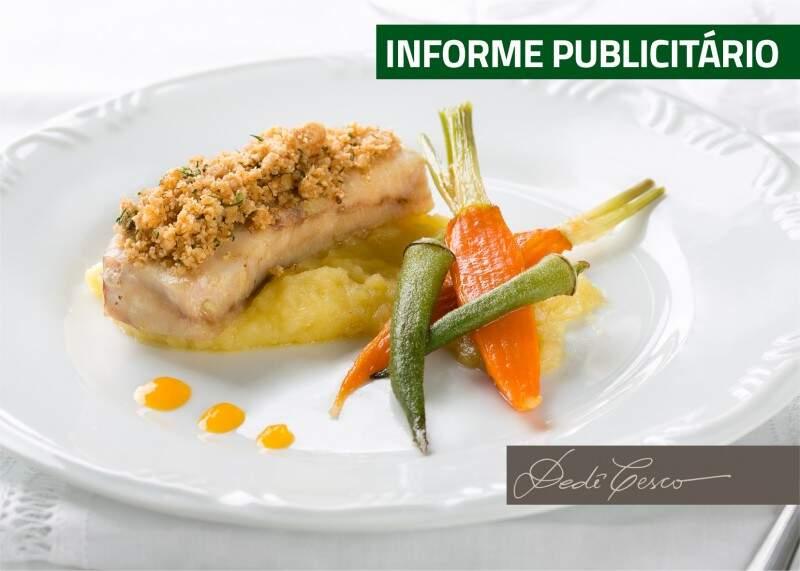 Orientações sobre ingredientes, combinações, composições e apresentação dos pratos são oferecidas no curso.