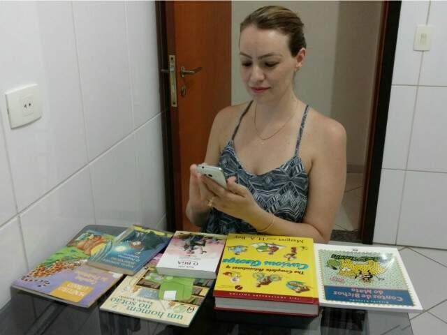 Janaína é uma das administradoras do grupo e pretende mantê-lo para o próximo ano letivo (Foto: arquivo pessoal)